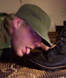 BOOT LICKING