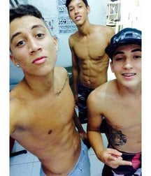 the most beautiful boys of the favela