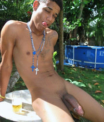 Latin guys with great penis