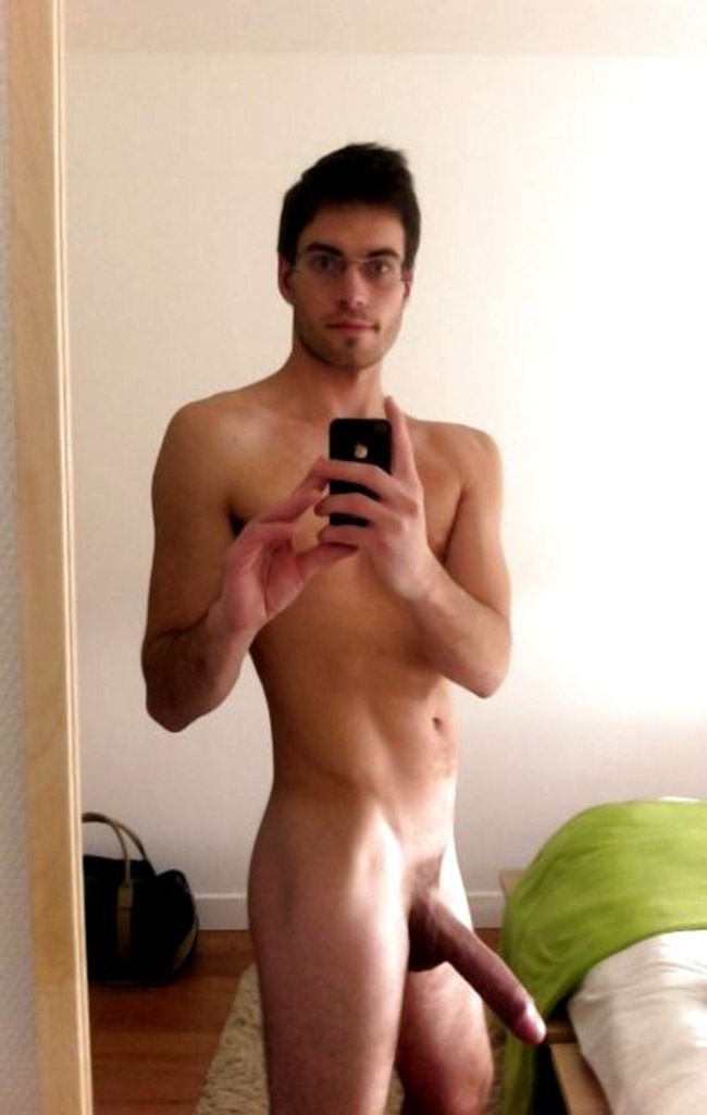 Naked big penis guy