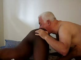 Dad eats twink ass