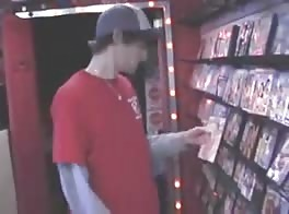 Boy Caught Fun In A Porn Store