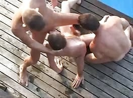 Double Dicking Bareback Twinks