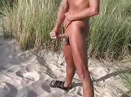 Wanking In The Dunes