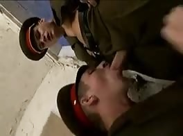 Stealing makes the soldier boys horny