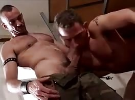Military Top and His Slave