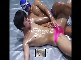 Hot Asian Speedo Wrestling