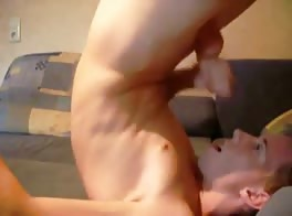 loves his own cum