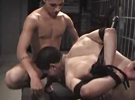 BDSM - Rikki loves the Pain Master and his slave