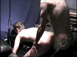Master cums in his slave