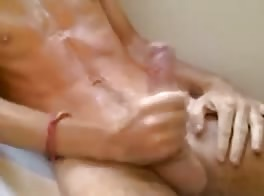 cum in bath