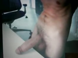 thick dick on my desk