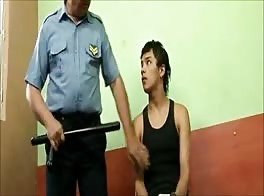 Street Kid In Interrogation