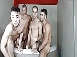 4 hot and horny guys