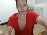 Hot romanian man on webcam