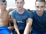 3 Str8 Romanian Boys Go Gay & Cum On Cam, Hot Asses & Dicks