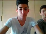18yo Italian Boys Show Their Hot Asses 1st Time On Webcam