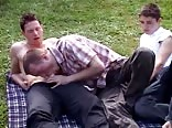RB Frat Studs Picnic Boys Outside Porn
