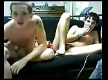 cute teens jerking off together
