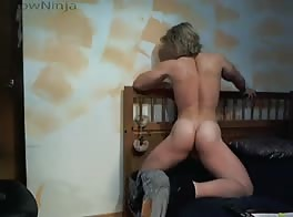 blonde muscle solo