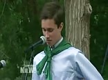 Gay Valedictorian  delivers banned 'I'm gay' speech
