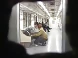 Blowjob on Seoul Metro