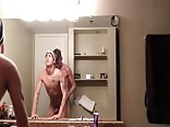 Bathroom pounding