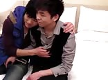 Sexually excited japanese lads having sexy sex