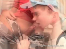 Cute boys sucking