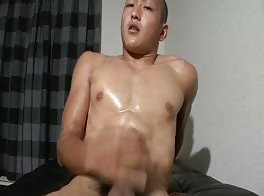 cute handsome boy cum shots