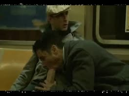 Two guys on the train