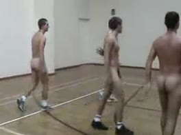 Str8 naked basketball boys entire team