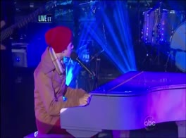 Justin Bieber 'Let It Be' Live From Times Square