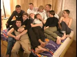 Russian Boy Orgy-Pt 1 of 2