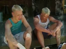Blond Twinks - Two On A Deck