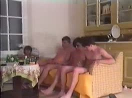 Vintage 1 Hour Orgy with 14 Twinks