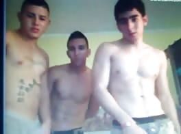 Three Boys on Cam