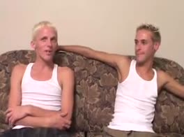 Blonde boys - Trenton and Alex