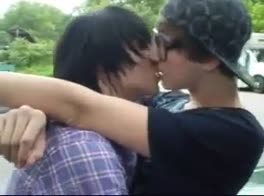 Emo Boys (Not) Kissing