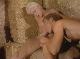 BLONDES BUM IN A BARN