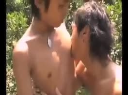 asian boys fuck outdoor