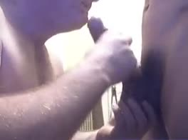 Slave dad Sucks Son Master