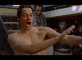 Ioan Gruffudd naked from behind in Horatio Hornblower