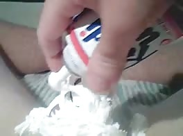 Whipped Cream Jerk Off