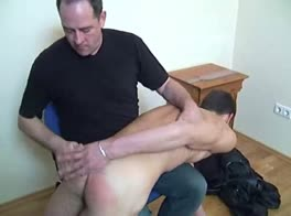 Keith goes over Daddy's Knee