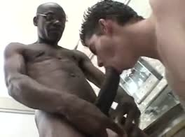 huge black dick fucks white boys ass