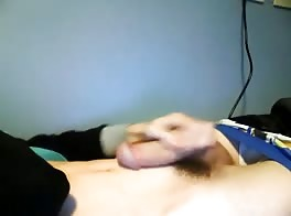 fast wank and cum