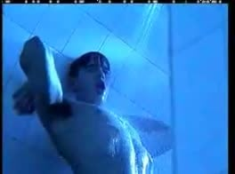 Hot twink in the shower