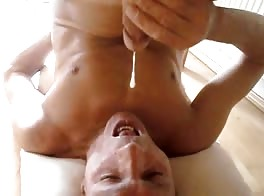 self cum eating 1
