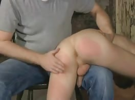 Naughty Twink Gets His Ass Spanked